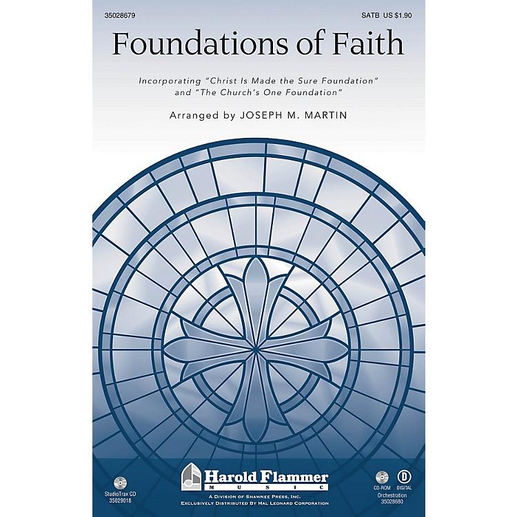 Shawnee PressFoundations of Faith SATB arranged by Joseph M. Martin