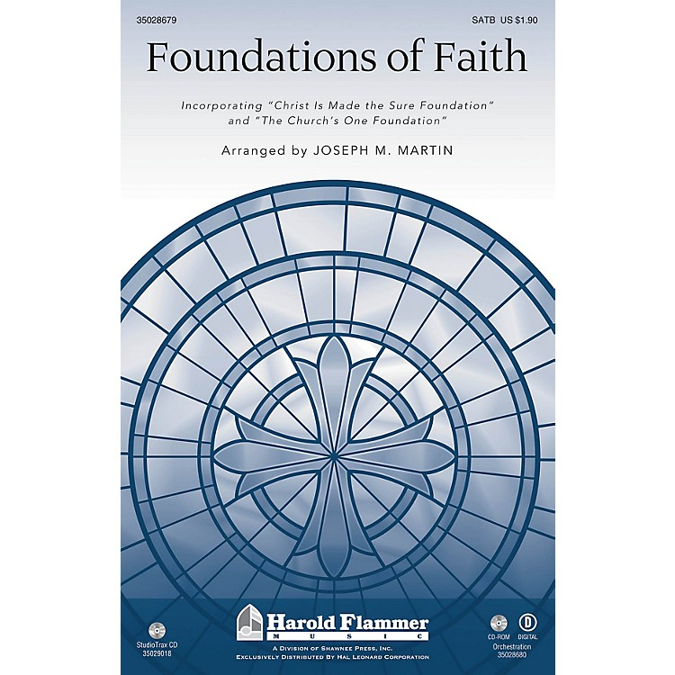 Shawnee PressFoundations of Faith Studiotrax CD Arranged by Joseph M. Martin