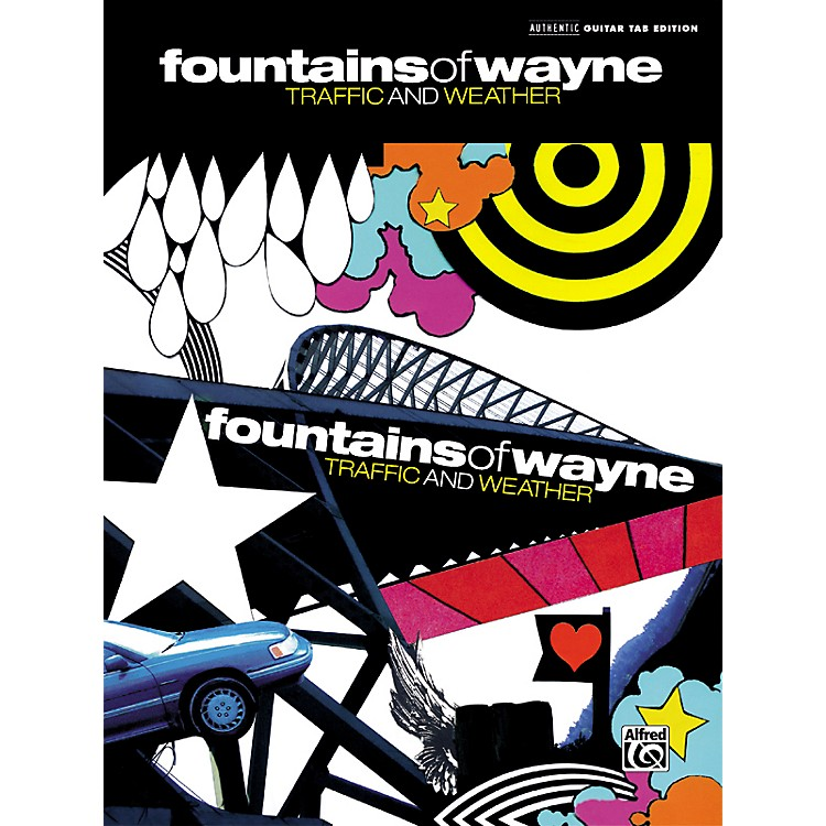 AlfredFountains of Wayne Traffic & Weather Guitar Tab Songbook