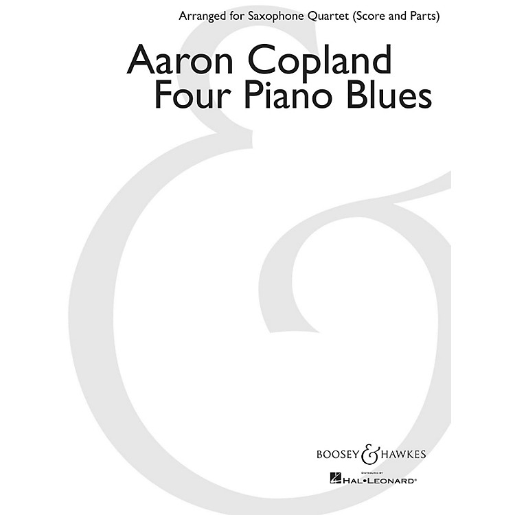 Boosey and HawkesFour Piano Blues Boosey & Hawkes Chamber Music Book  by Aaron Copland Arranged by Paul Cohen