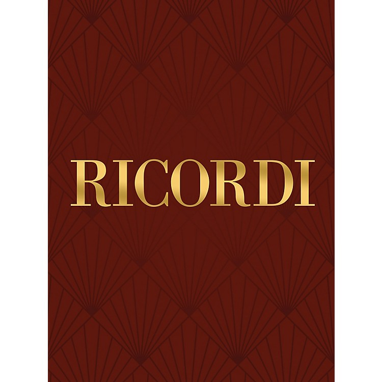 Ricordi Francesca da Rimini (Vocal Score) Vocal Score Series Composed by R Zandonai