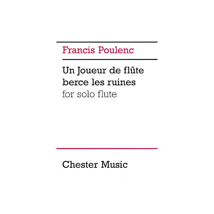 Music SalesFrancis Poulenc: Un Joueur De Flute Berce Les Ruines For Solo Flute Music Sales America Series
