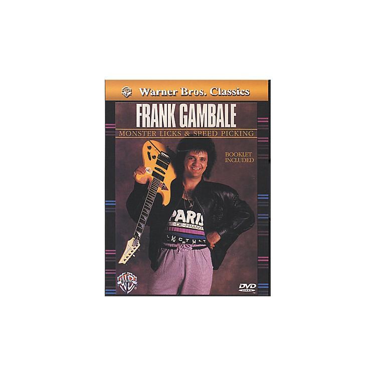 AlfredFrank Gambale Monster Licks & Speed Picking DVD