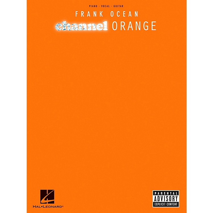 Hal LeonardFrank Ocean - Channel Orange Piano/Vocal/Guitar (PVG)