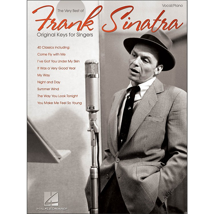 Hal LeonardFrank Sinatra - The Very Best Original Keys for Singers Vocal / Piano