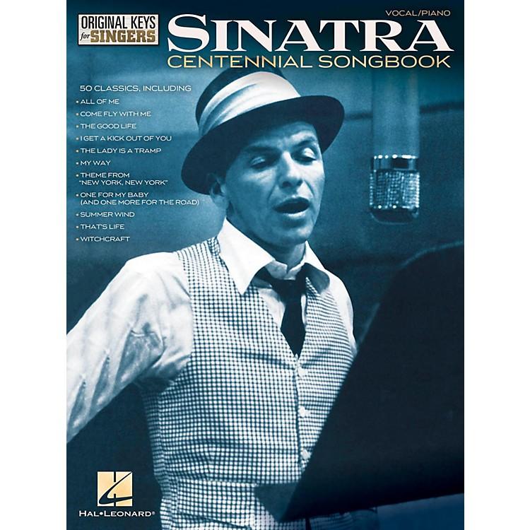 Hal LeonardFrank Sinatra Centennial Songbook - Original Keys For Singers