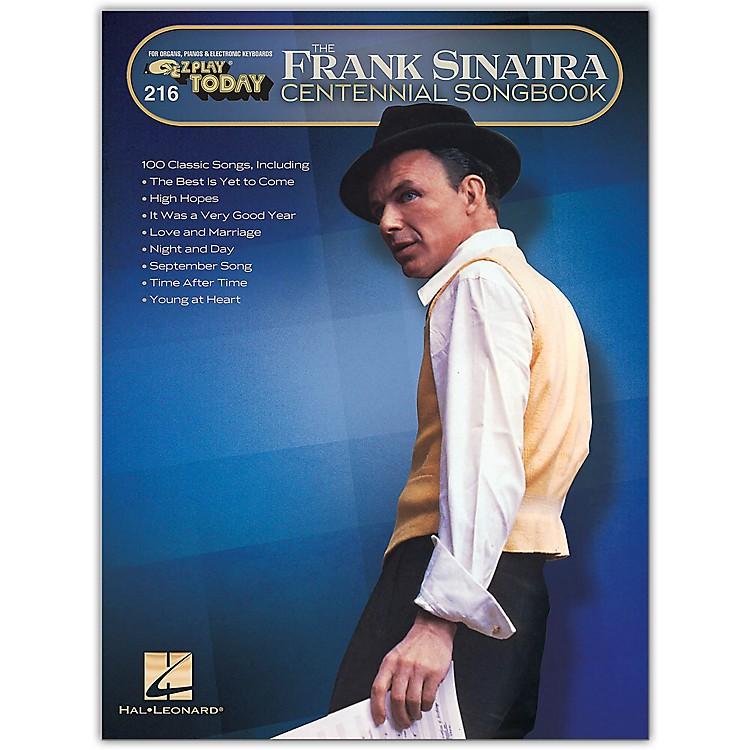 Hal LeonardFrank Sinatra Centennial Songbook E-Z Play Today #216