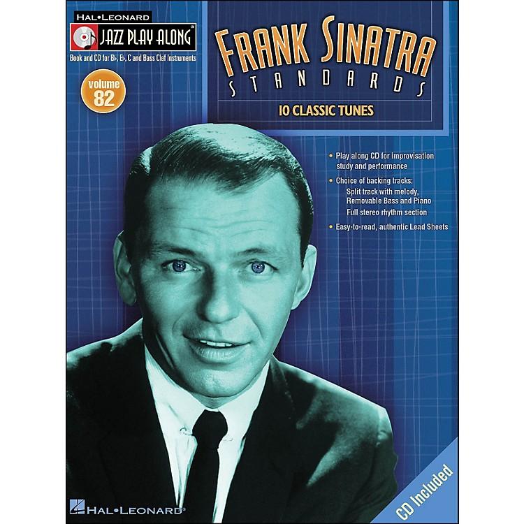 Hal LeonardFrank Sinatra Standards jazz Play-Along Volume 82 Book/CD