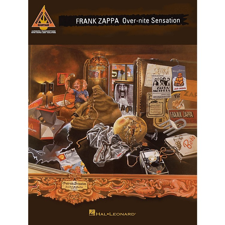Hal LeonardFrank Zappa - Over-Nite Sensation Guitar Tab Songbook