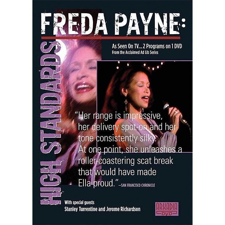Hal LeonardFreda Payne - High Standards (Visions of Jazz Series) DVD Series DVD Performed by Freda Payne