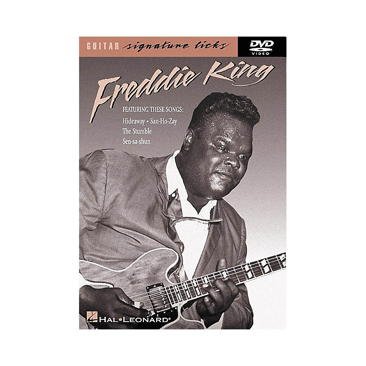 Hal LeonardFreddie King Guitar Signature Licks (DVD)