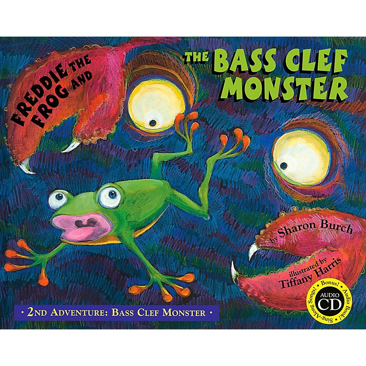 Hal Leonard Freddie The Frog And The Bass Clef Monster Flash Card Set