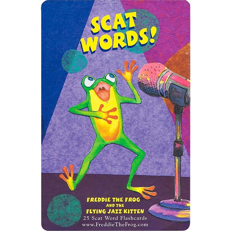 Hal LeonardFreddie The Frog And The Flying Jazz Kitten Scat Word Flashcard Set