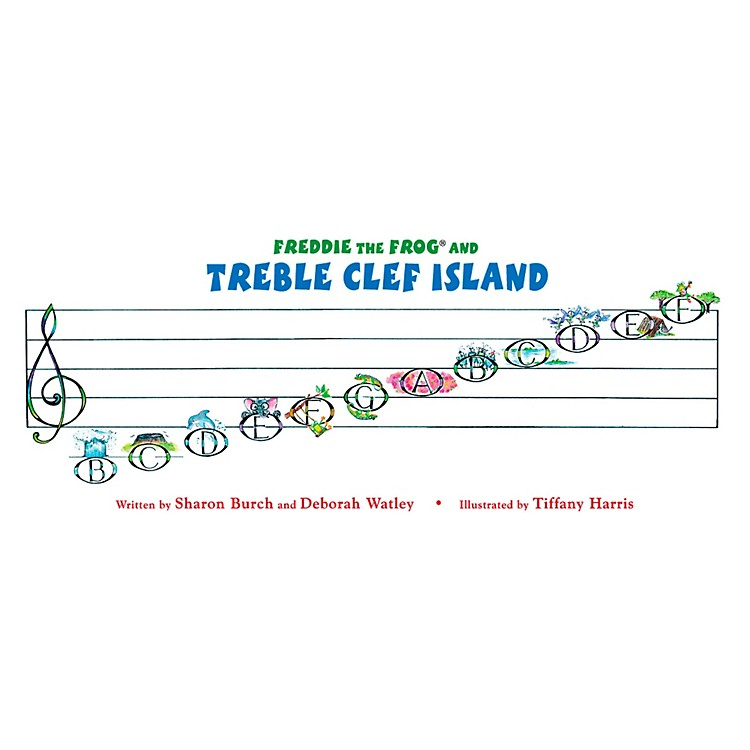 Hal LeonardFreddie The Frog And The Treble Clef Island Poster