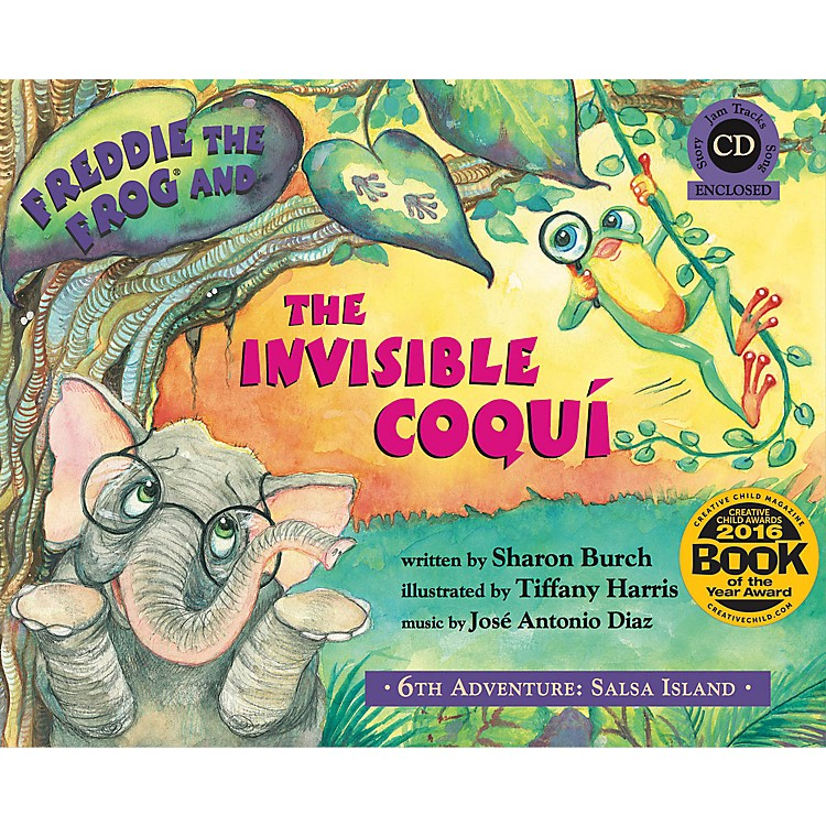 Hal LeonardFreddie the Frog and the Invisible Coqui