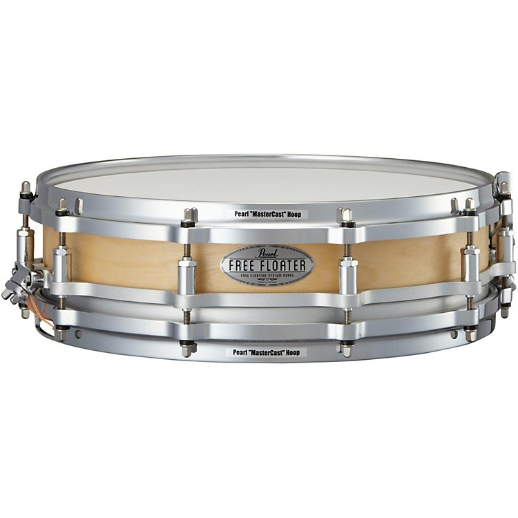 PearlFree Floating Birch Snare Drum14 x 3.5 in.Natural