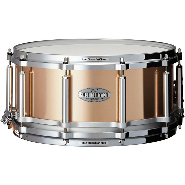 Pearl Free Floating Phosphor Bronze Snare Drum 14 x 6.5 in.