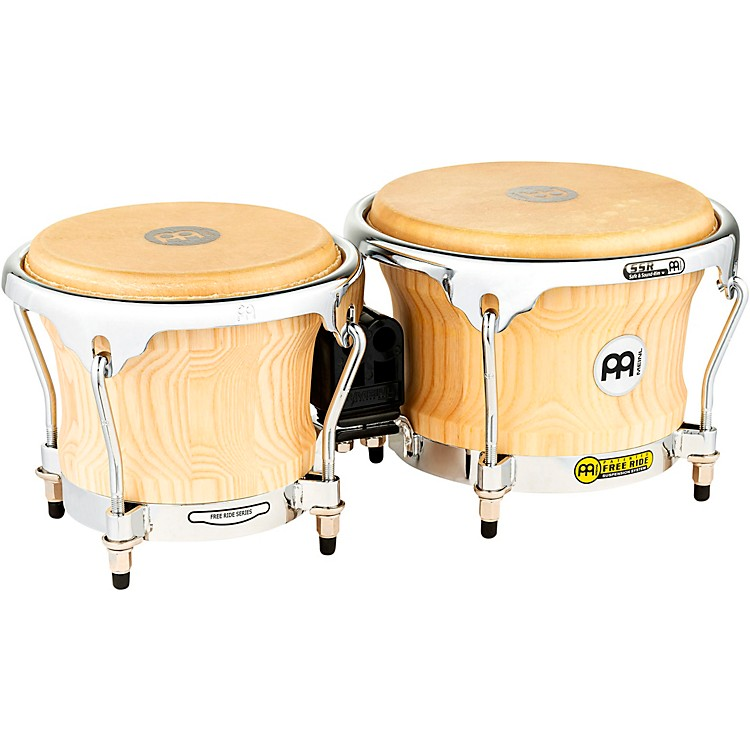 MeinlFree Ride Series Collection Wood Bongos8.5 x 7 in.American White Ash