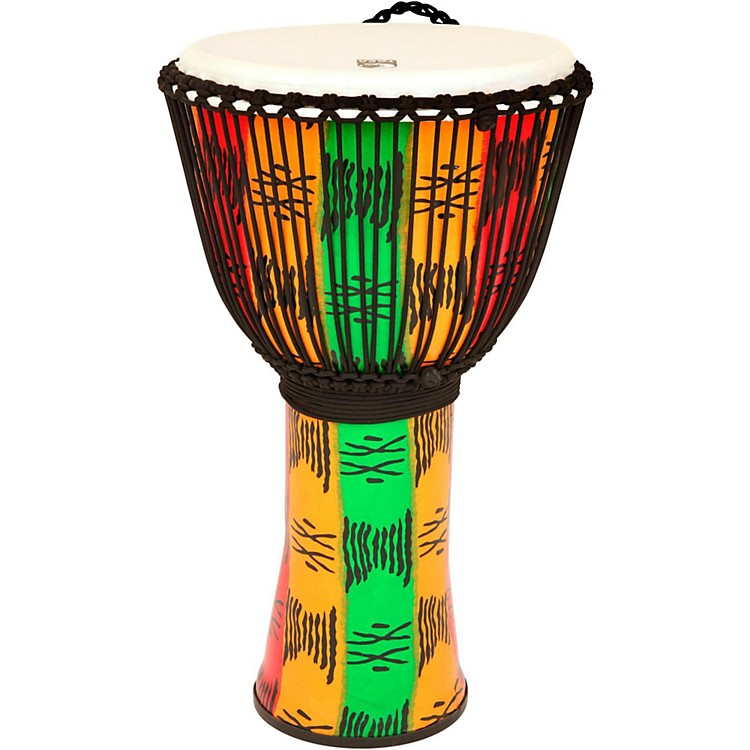 Toca FreeStyle II Rope Tuned Djembe with Bag 14 in. Spirit
