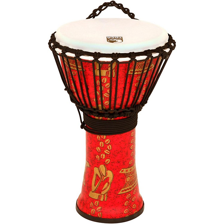 TocaFreeStyle II Rope Tuned Djembe with Bag14 in.Thinker