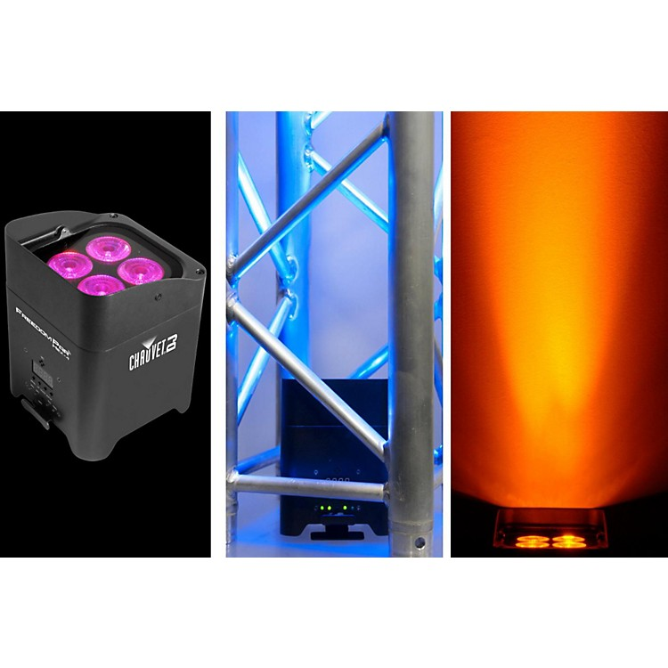CHAUVET DJFreedom Par Hex-4 Battery-Powered LED Wash/Black Light