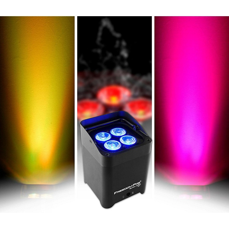CHAUVET DJ Freedom Par Quad-4 IP Indoor/Outdoor Battery-Powered Wirelss LED Par-Style Wash Light White