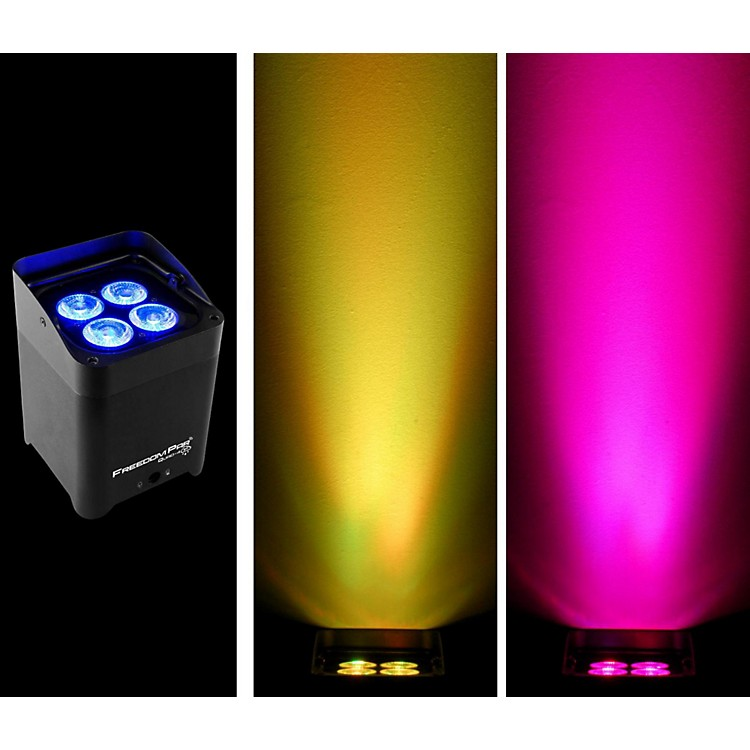 Chauvet DJ Freedom Par Quad 4 Wireless LED Par Black