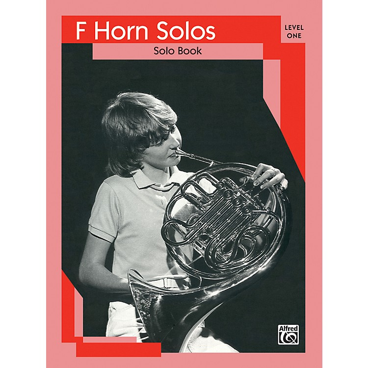 AlfredFrench Horn Solos Level I Solo Book