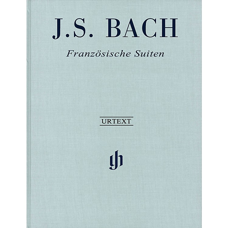 G. Henle VerlagFrench Suites BWV 812-817 Revised Edition Clothbound Henle Music Hardcover by Bach Edited by Scheideler