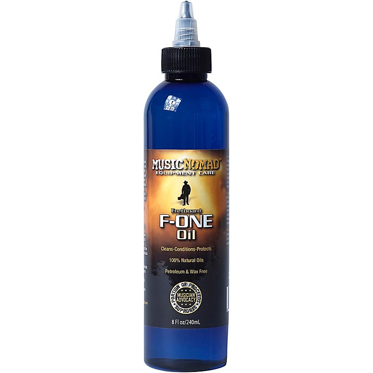 Music NomadFretboard F-ONE Oil 8 oz Tech Size - Cleaner & Conditioner