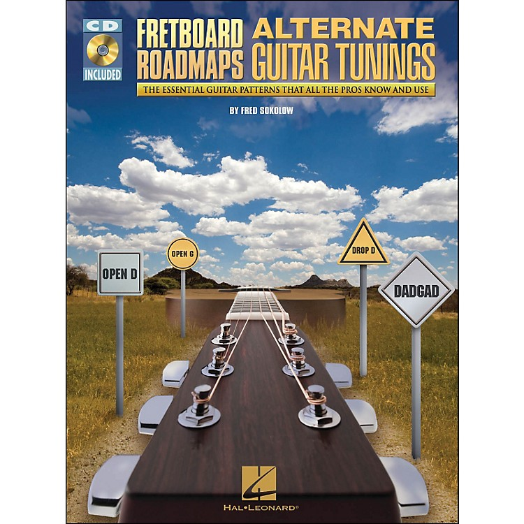 Hal Leonard Fretboard Roadmaps - Alternate Guitar Tunings (Book/CD)