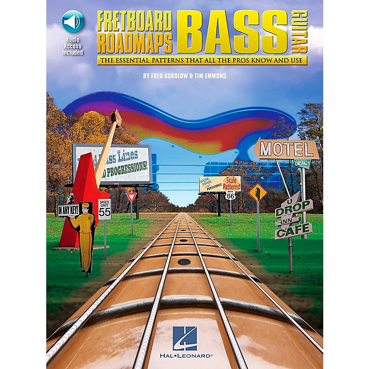 Hal LeonardFretboard Roadmaps - Bass - The Essential Patterns That All the Pros Know and Use (Book/CD)