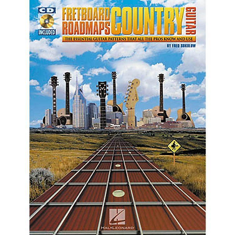 Hal Leonard Fretboard Roadmaps - Country Guitar (Book/CD)