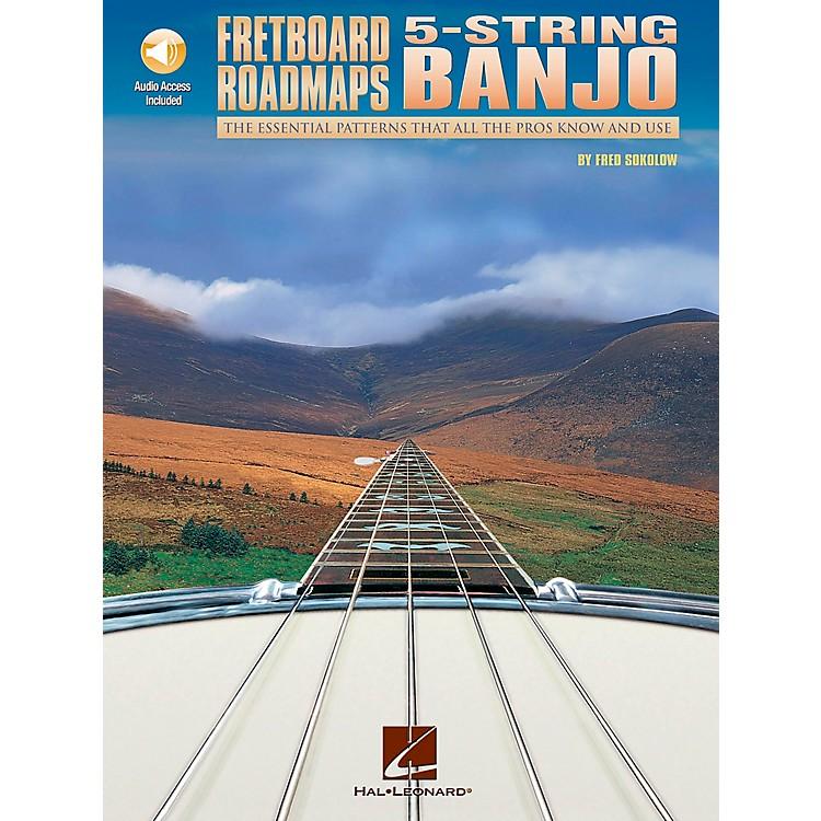 """Hal LeonardFretboard Roadmaps """" 5-String Banjo (Book/CD)"""