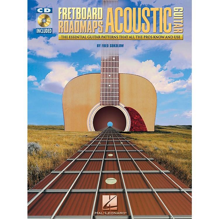 Hal LeonardFretboard Roadmaps for Acoustic Guitar Book and CD