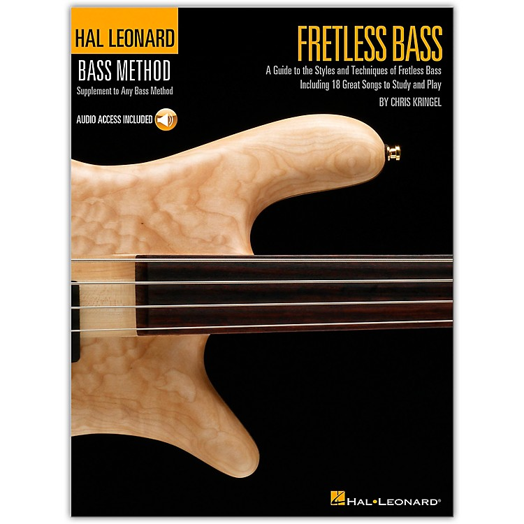 Hal LeonardFretless Bass Method Book with CD
