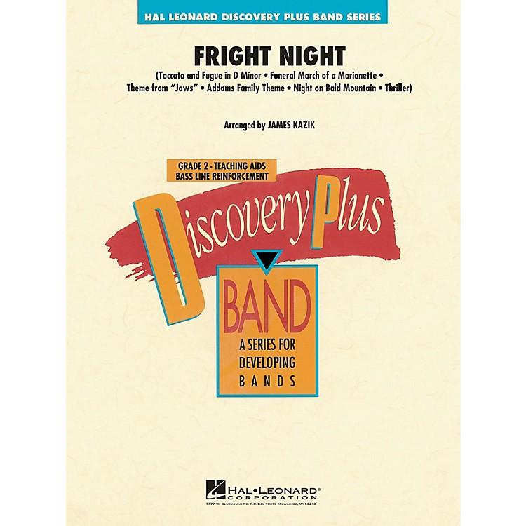 Hal LeonardFright Night - Discovery Plus Band Level 2 arranged by James Kazik