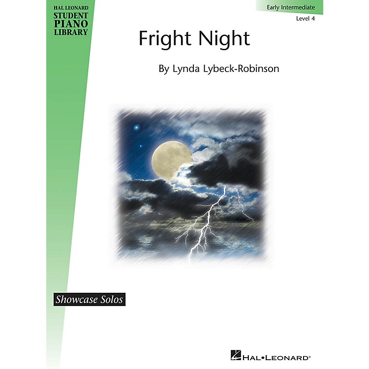 Hal Leonard Fright Night Piano Library Series by Lynda Lybeck-Robinson (Level Early Inter)