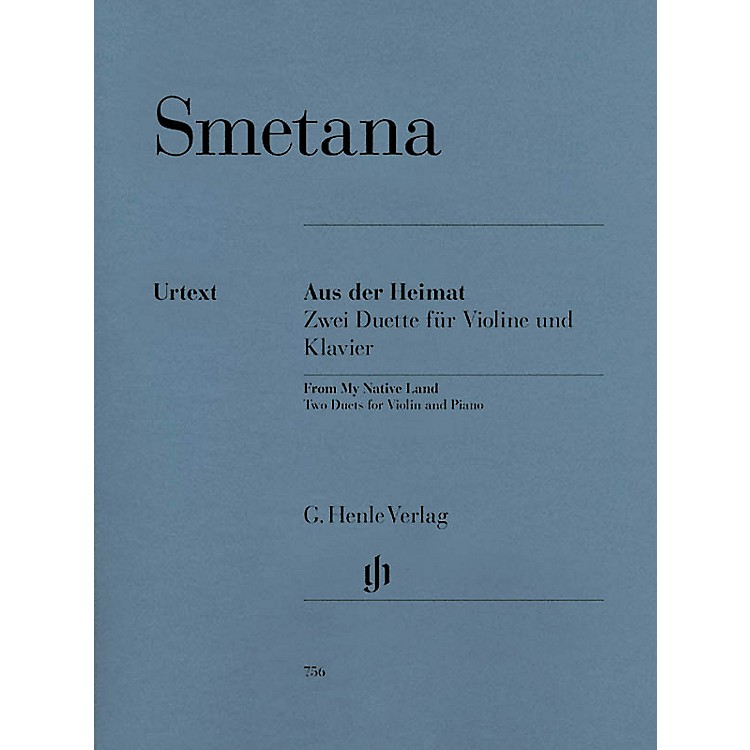 G. Henle Verlag From My Native Land (Two Duets for Violin and Piano) Henle Music Folios Series Softcover