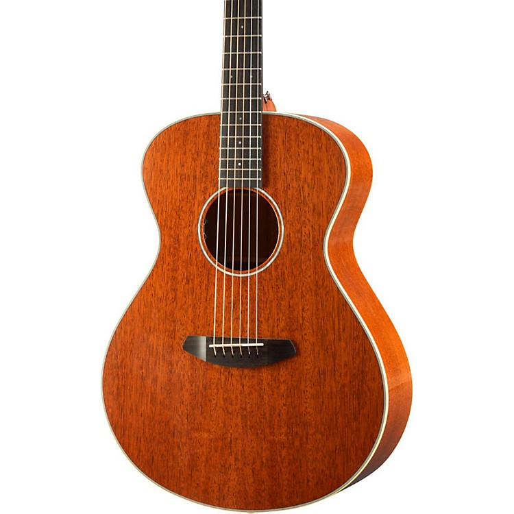 Breedlove Frontier Concert E Mahogany - Mahogany Acoustic-Electric Guitar Gloss Natural