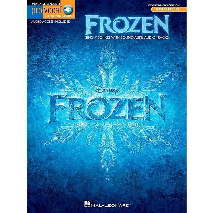 Hal LeonardFrozen - Pro Vocal Songbook & Online Audio For Women/Men Volume 12
