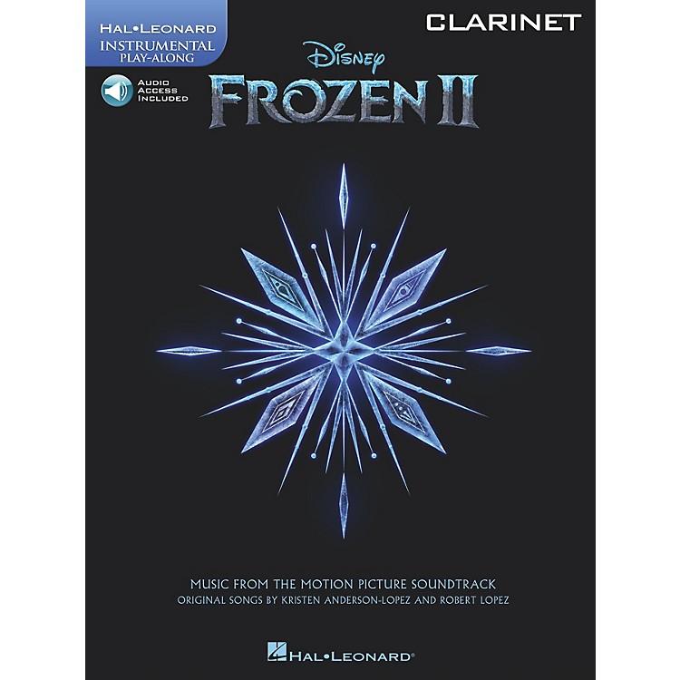Hal LeonardFrozen II Clarinet Play-Along Instrumental Songbook Book/Audio Online