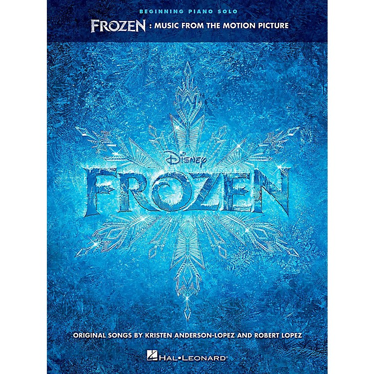 Hal LeonardFrozen: Music From The Motion Picture For Beginning Piano Solo