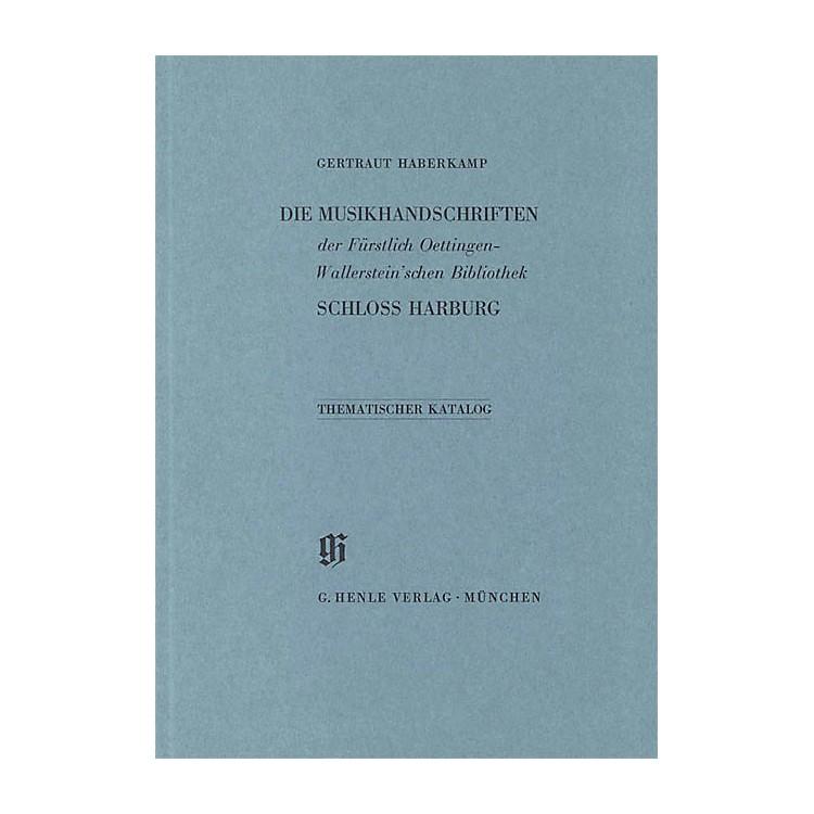 G. Henle VerlagFürstlich Oettingen-Wallerstein'sche Bibliothek Schlo Harburg Henle Books Series Softcover