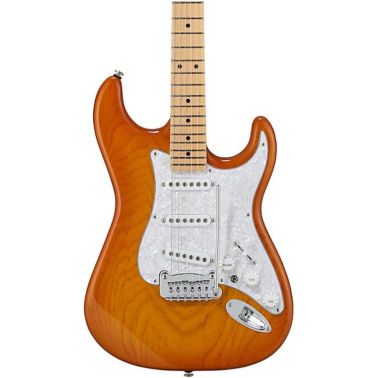 G&LFullerton Deluxe S-500 Maple Fingerboard Electric GuitarHoney Burst