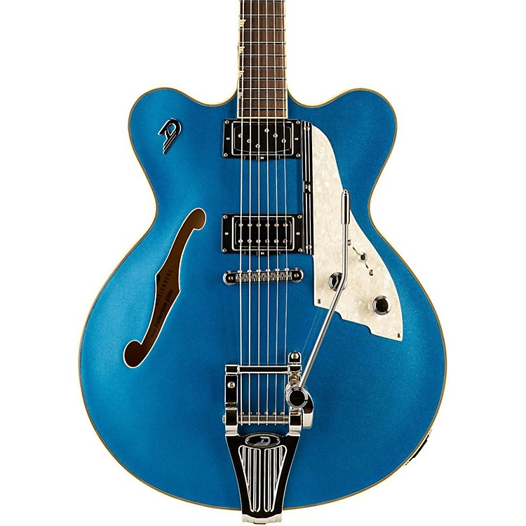 Duesenberg USAFullerton Elite Semi-Hollow Electric GuitarCatalina Blue