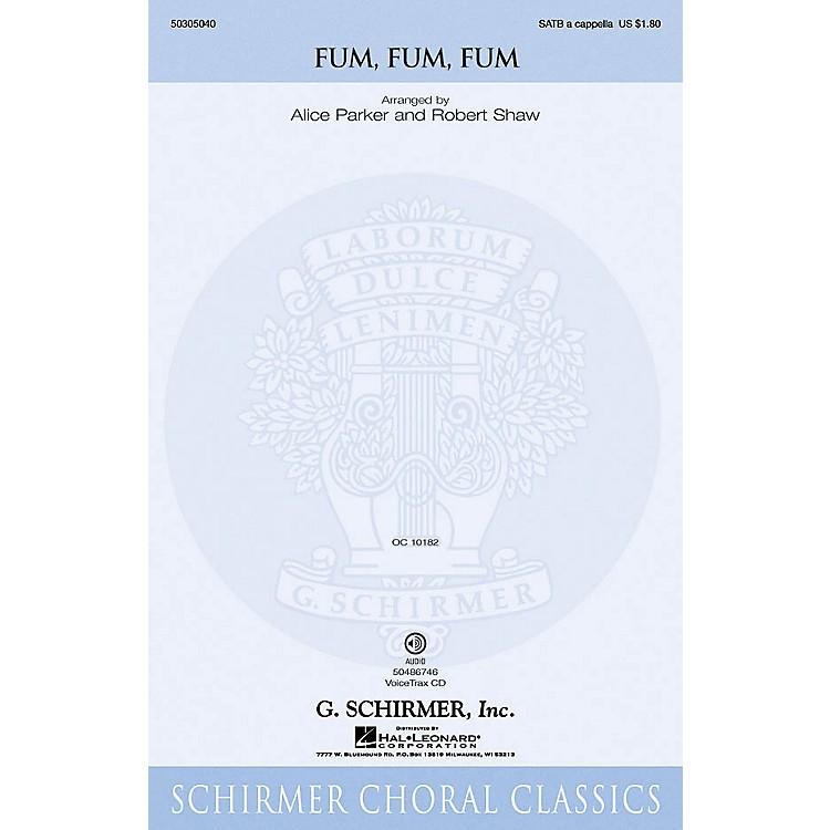 G. SchirmerFum, Fum, Fum VoiceTrax CD Composed by Traditional Catalan Carol