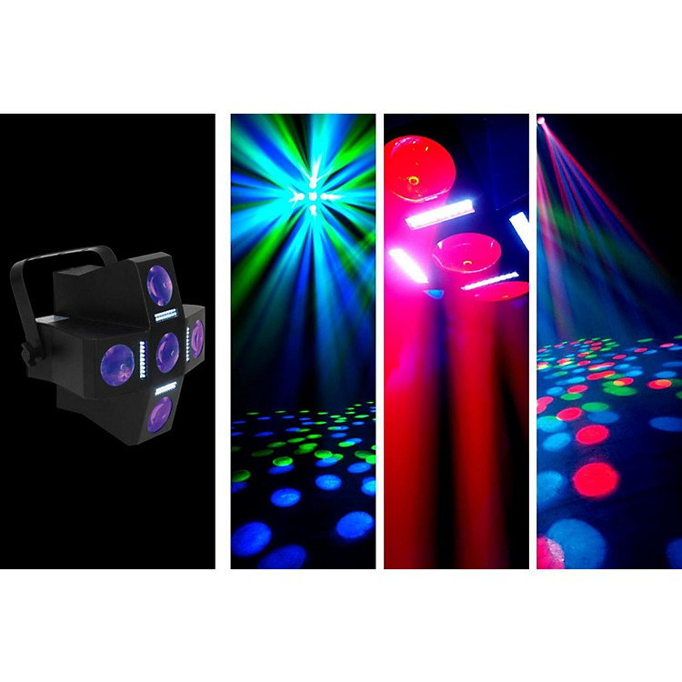 American DJ Fun Factor LED Moonflower/Strobe Lighting Effect