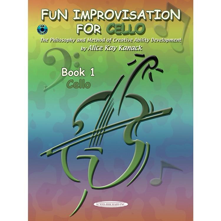 AlfredFun Improvisation for ... Cello  Book/CD