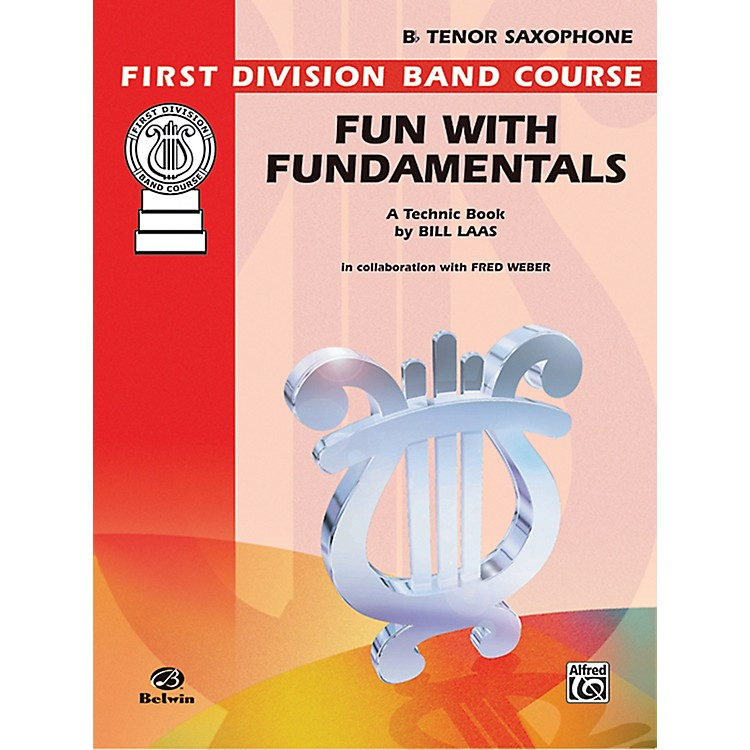 Alfred Fun with Fundamentals B-Flat Tenor Saxophone Book